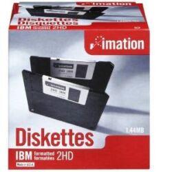 """Imation mágneslemez  (floppy) 3,5"""" MF-2HD"""