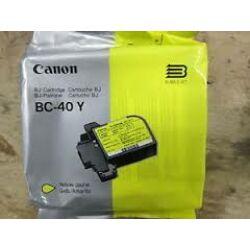 Canon BC-40 sárga eredeti tintapatron