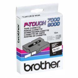 Brother TX-221 eredeti festékszalag