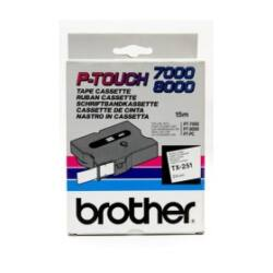 Brother TX-251 eredeti festékszalag