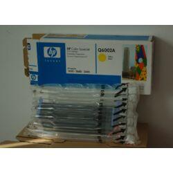 HP Q6002A 124A eredeti toner - sárga
