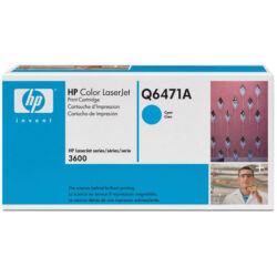 HP Q6471A (502A) eredeti cyan festékkazetta