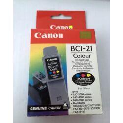 Canon BCI-21 eredeti színes tintapatron
