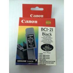 Canon BCI-21 eredeti fekete tintapatron