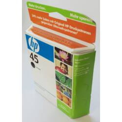 HP 51645A (45) Black tintapatron