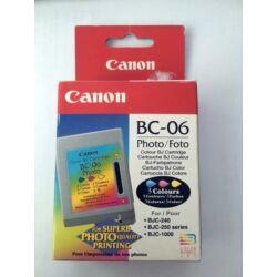 Canon BC-06 eredeti színes patron