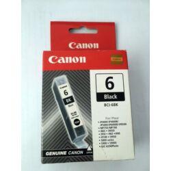 Canon BCI-6BK eredeti fekete tintapatron